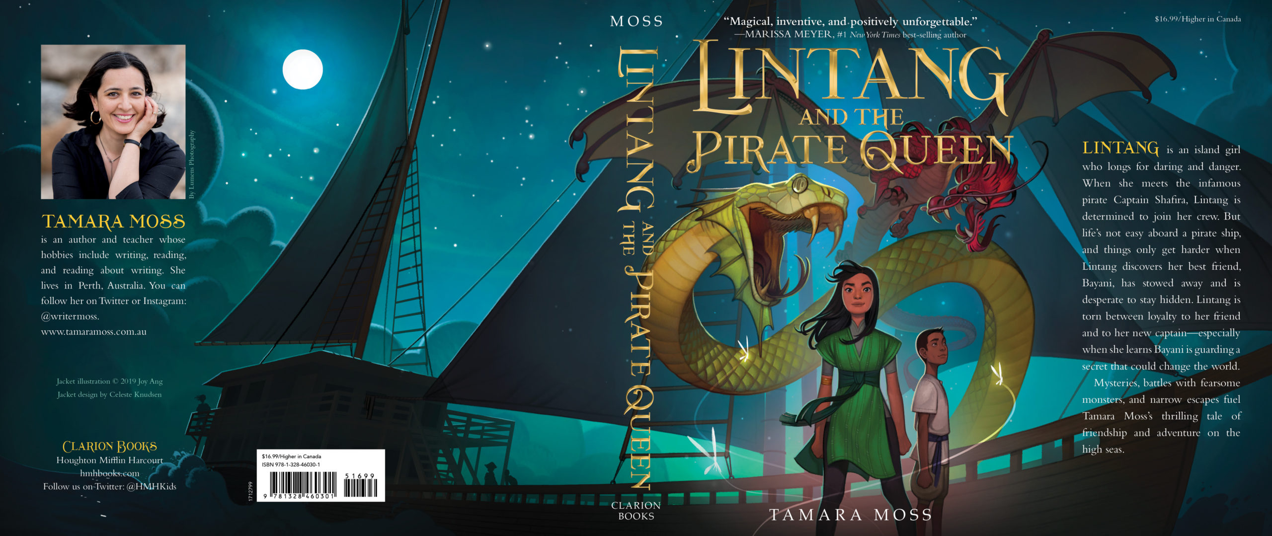 Lintang and Pirate Queen Jacket Design